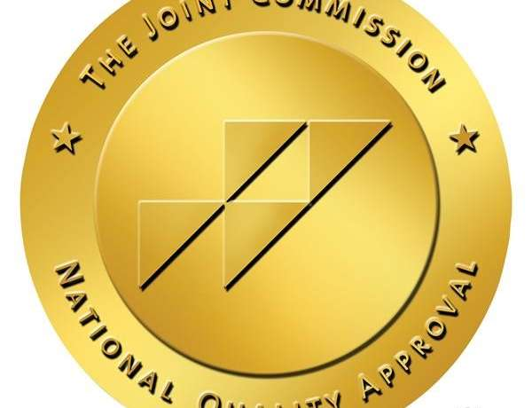 Gold Seal of Approval Awarded by the Joint Commission